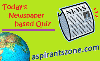 Current Affairs 19 April 2019 Quiz | Daily Gk Quiz - Aspirants Zone
